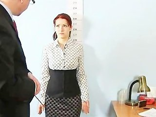 Humiliating Totally Nude Job Interview For Shy Redhead Girl Porn Video 161