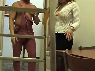 Milf Was Fucked By Repairman At Home