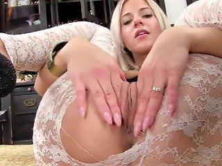 Nasty Czech Kitten Opens Up Her Narrow Twat To The Stra Porn Videos