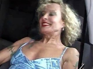 Milf With Pierced Pussy And Nipples Masturbating In The