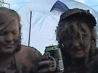 Danish Tits Covered In Mud At The Roskide Festival Porn 7c