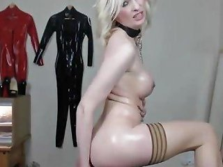 Blonde Milf Jade In Dog Collar Pussy Fucks Free Porn 7d