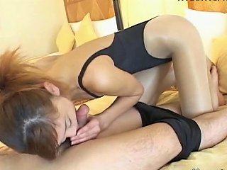 Leotard Pantyhose Oral Sex Free Pantyhose Sex Porn Video 75