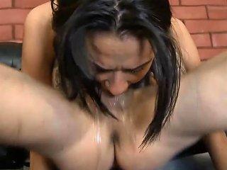 Rough Throat Fuck Anal For Slutty Latina Ava Kelly