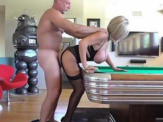 Hubby Fucks Neighbor Bent Over Pool Table 124 Redtube Free Big Tits Porn