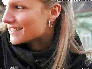 Innocent Czech Girl Takes Money From Stranger For Public Sex Drtuber
