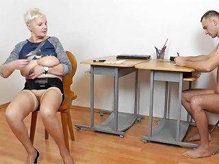 Mature Teacher Handjob Blowjob Long Red Nails 3 Hd Porn 66
