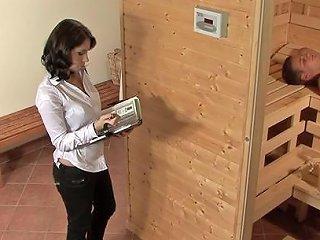 Magnetic Babe Lets The Sauna Guy Enter Her Vaginal Depths Any Porn