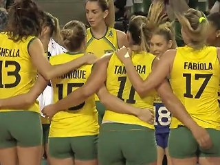 Brazilian Volleyball Players Amazing Cameltoe Free Porn Af