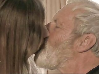 Bearded Grandpa Cums In Tina S Young Mouth Free Porn E7