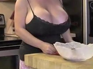 Mom Seduces In The Kitchen With Her Tits Porn 0a Xhamster