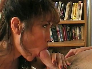 Hot Asian Milf Gets On Her Knees And Gives Young Dude A