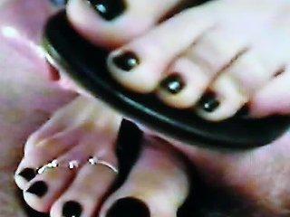 Sandals Footjob Free Foot Fetish Porn Video 1a Xhamster