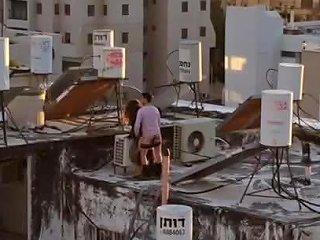 Israeli Public Roof Fuck Free Public Fuck Porn Video 26