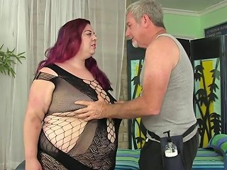 Raunchy Sex Massage For Fat Floozy Miss Ladycakes Porn Videos