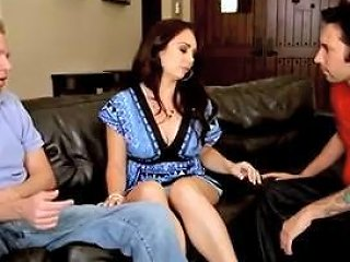 Holly's Pussy And Asshole Double Stuffed Hard Free Porn 7d