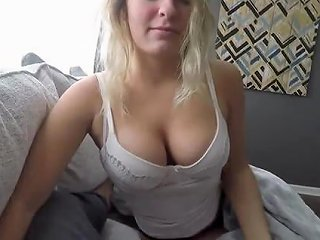 Lovely Juicy Blonde Girlfriend With Huge Natural Boobs Ge Any Porn