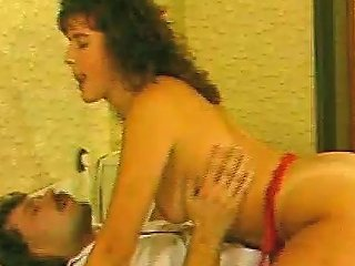 Girl With Curly Hair Gets Her Bearded Clam Licked And Fucked