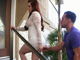 Red Haired Nextdoor Chick Veronica Vain Is Fucked Hard By One Hot Blooded Neighbor