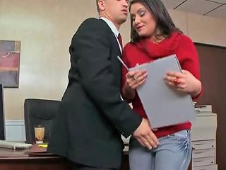 Bruce Venture Gets The Job By Fucking Her Future Boss At Any Porn