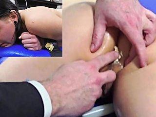 Miss April Takes A Painful Colon Tube Enema Free Porn 9b