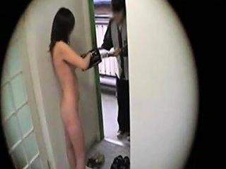 Japanese Girl Flashing Delivery Guy 4