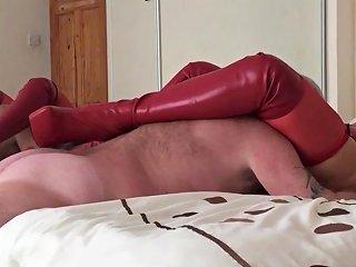 Linda Li Kinky Boots And Red Latex Free Porn F8 Xhamster