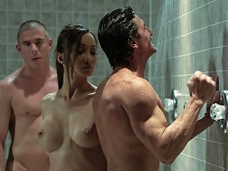Asian Beauty Katsuni Double Teamed In The Gym Showers Any Porn
