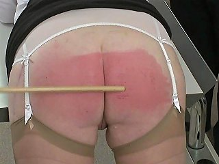 Disgraced Mature Wife Paddled And Caned