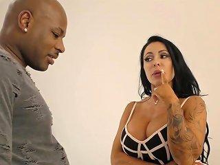 Before Steamy Analfuck Cuban American Hottie Simone Garza Sucks Strong Bbc