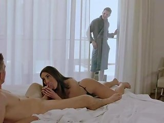 Tushy Hot Wife Loves Dp With Her Husband And His Best