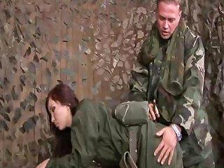 Bdsm On Female Army Recruit Drtuber