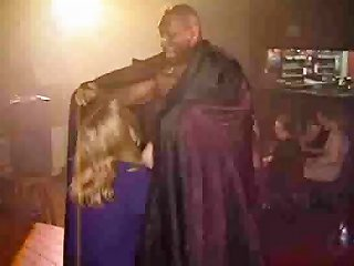 Stripper Entertains The Ladies Nuvid