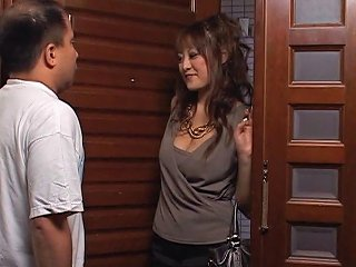 Lonely Japanese Housewife Seduces A Delivery Guy Makes Any Porn