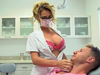 Busty Dentist Corinna Blake Gets Her Pussy Fucked Properly In The Hospital