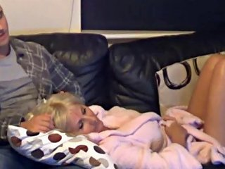 British Mom And Son Get Close When Dad Goes To Bed