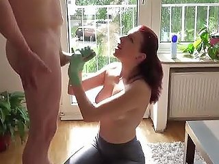 Latex Gloved Redhead Handjob In The Afternoon Free Porn 2d