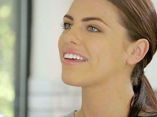Stunning Beauty With Perfect Body Adriana Chechik Fucks Her Black Lover