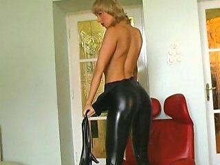 Crazyspandexgirl Betti Playing With Huge Dildos