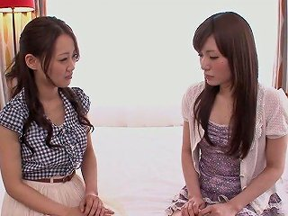 Flirty Japanese Girl Koi Miyamura Is Eager To Enjoy Some Scissoring