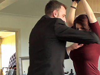 Redhead With Large Boobs And The Bdsm Adventure She Won't Any Porn