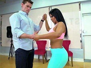Attractive Venezuelan Babe Rose Monroe Is Fucked By Horny Choreographer