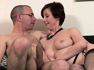 Mature British Skank Enjoys Hardcore Sex