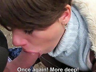 Mofos Public Pick Ups Sasha Zima Euro Cutie Banged