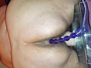 My Old Friend 2 Loud Orgasm With Anal Beads And Big