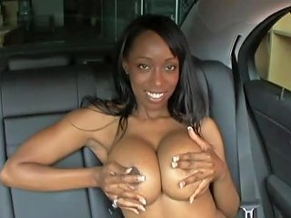 Insanely Busty Codi Bryant Gets Her Ebony Ass Fucked In A Back Seat