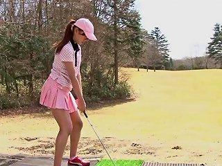 Sexy Cute Girls Loves Sucking Her Golf Instructor 039 S