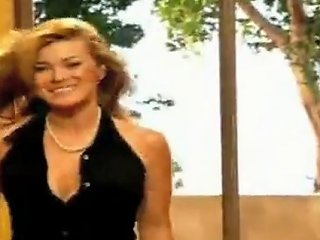 Carmen Electra Strip Aerobics Black Dress Free Porn D6