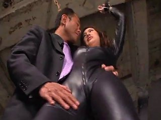 Shiny Catsuit Babe Submits To His Lusty Desires And Gets Any Porn