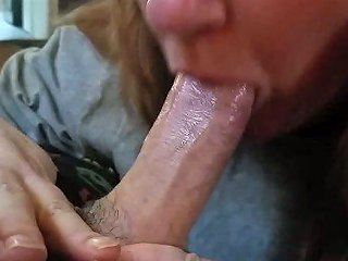 Ugly And Chubby Neighbour Sucking My Big Dick Deepthroat In Pov